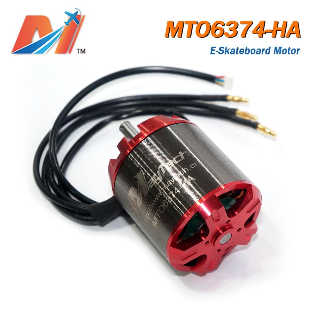 Maytech fish skateboard 6374 90KV rc bike sensored brushless motor for longboard electric car motor conversion kit