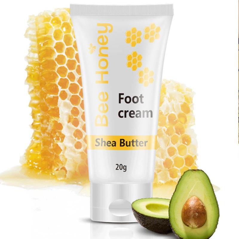 Фото - 20g Honey Foot Cream Exfoliating Foot Mask Useful Shea Soft Skin Hand Cream Paraffin Foot Hydrating Moisturizing Butter Car L0T2 too faced butter cream