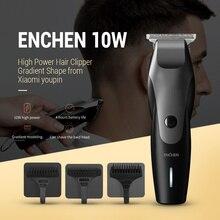 Männer ENCHEN USB Lade Haar Trimmer Bart Trimer Elektrische Rasierer Haar Schneiden Maschine T-Förmigen Kopf Haar Clipper IPX7Waterproof