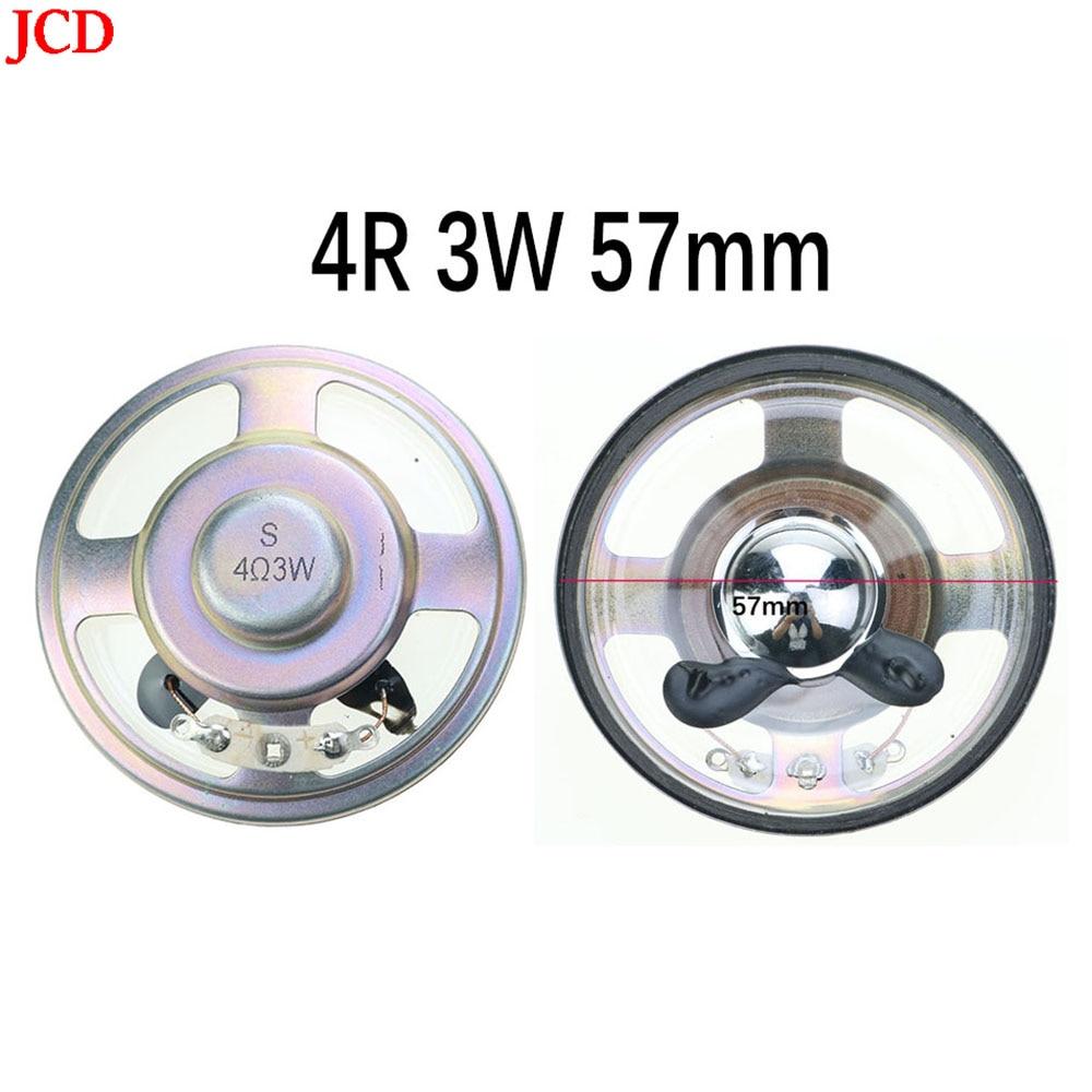 JCD Altavoz impermeable de 4 ohmios 3 Watts 3 W 4R 8...