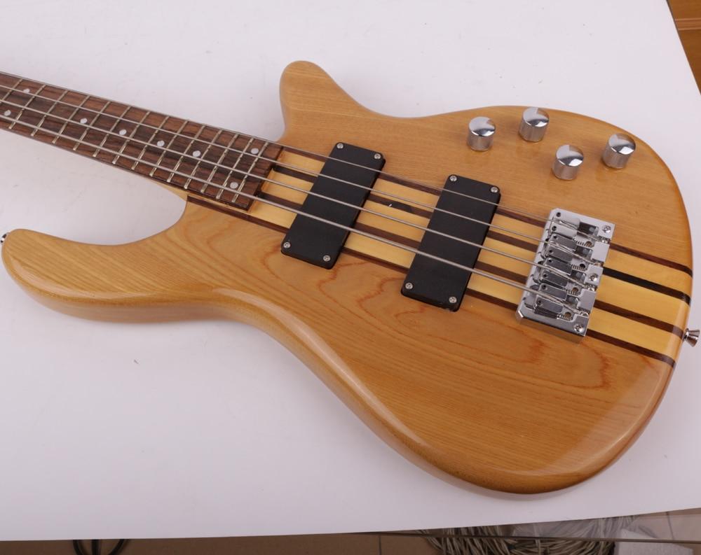 good quality neck thru body electric bass guitar free shipping