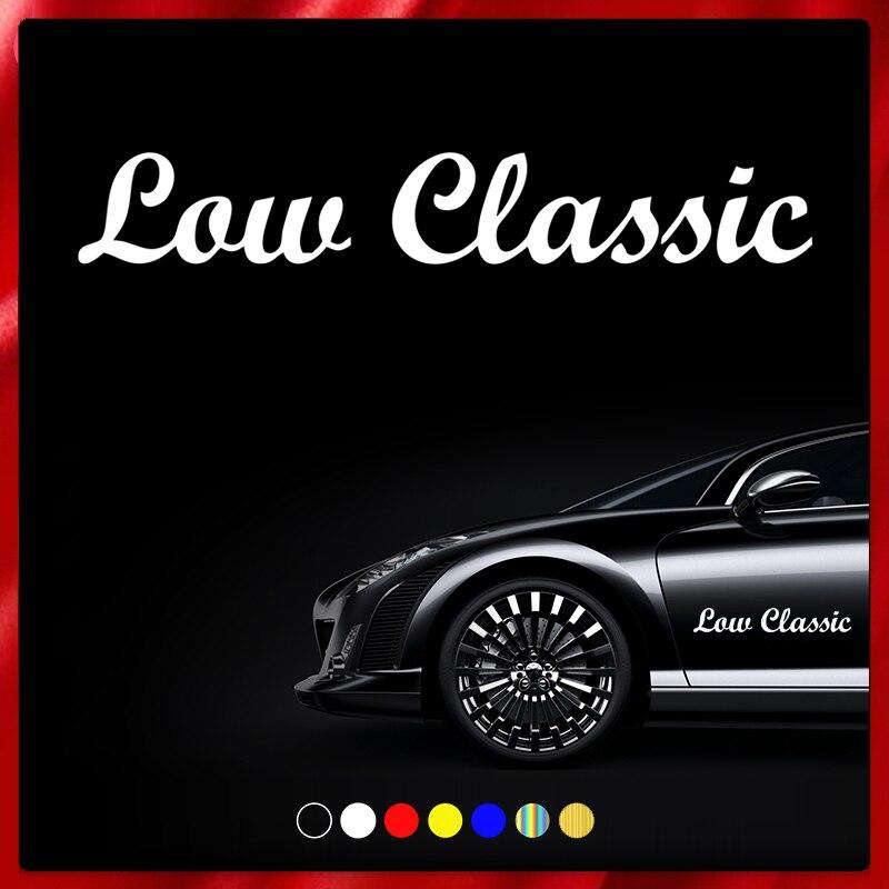 CS40069# наклейки на авто Low Classic водонепроницаемые наклейки на машину наклейка для авто автонаклейка стикер этикеты винила наклейки стайлинга ...