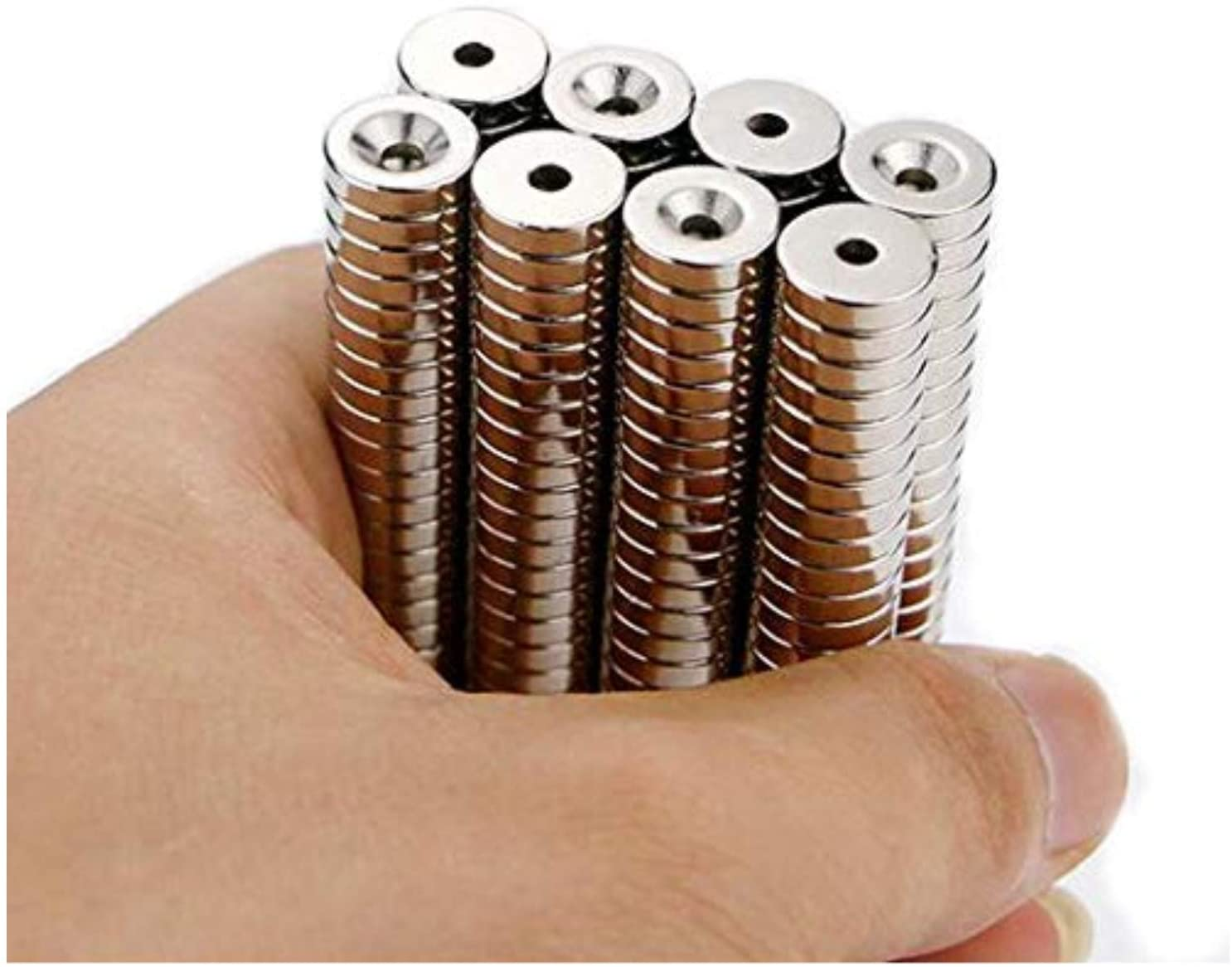 100 pieces 9x5 mm strong rare earth ndfeb neodymium magnet n35 small round super strong powerful magnetic magnets disc 100Pcs N35 Round Magnet small magnet Neodymium Magnet Permanent NdFeB Super Strong Powerful Magnets 10X1 mm