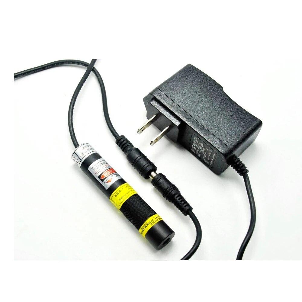 Фокусируемый 648 нм 650 нм 50 мВт красный лазер точка% 2FLine% 2FCросс модуль Mitsubishi диод w адаптер 1668
