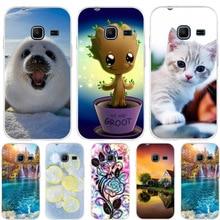 Pour coque Samsung Galaxy J1 Mini J105F coque motif chat pour Samsung Galaxy J1 Nxt coque Silicone pour Samsung J1 Mini 2016 Funda