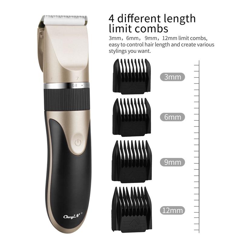 Barber T9 Electric Hair Cut Rechargeable Beard Trimmer Professional Hair Trimmer 0mm Baldheaded Men Hair Cutting Machine Shaving enlarge