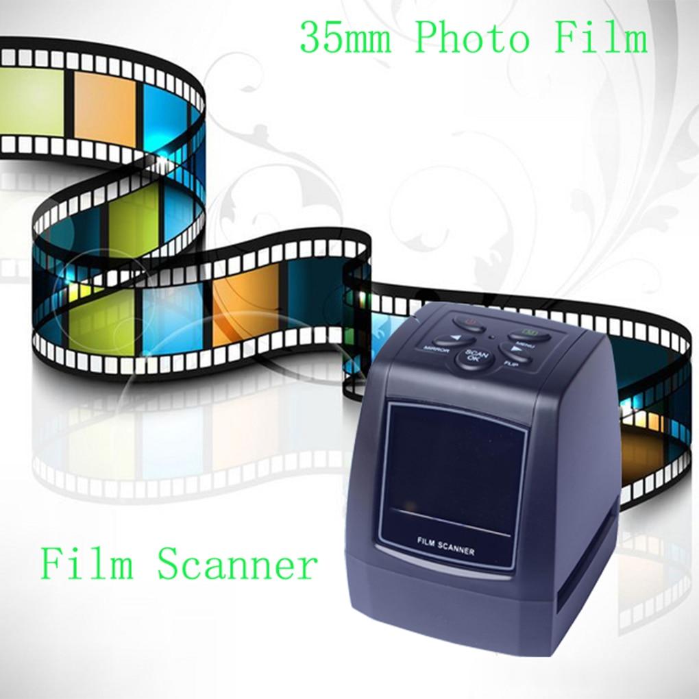 """22 Mp 35Mm Negatieve Film Scanner 110 135 126KPK Super 8 Slide Film Foto Scanner Digitale Film converter 2.4 """"Lcd"""