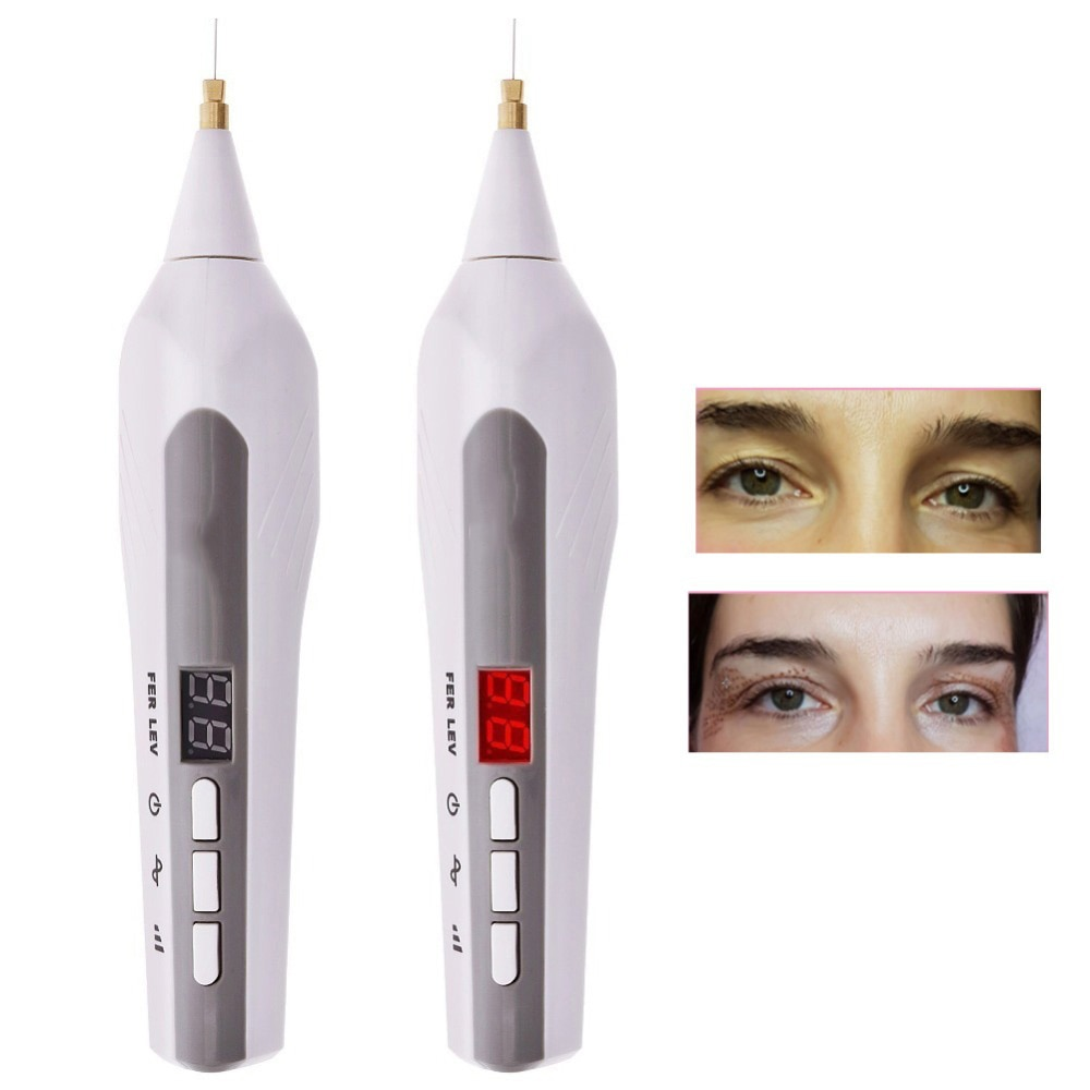 Eliminación de moles para arrugas y pecas pluma de punto iónico la piel asusta a las arrugas eliminación de puntos negros para levantamiento de párpados pluma de plasma