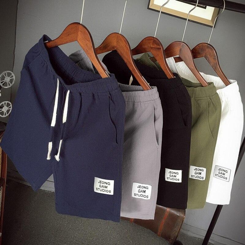 Модные Джинсовые шорты, мужские летние пляжные шорты дышащие мужские повседневные шорты удобные размера плюс бренд фитнес мужские спортив...