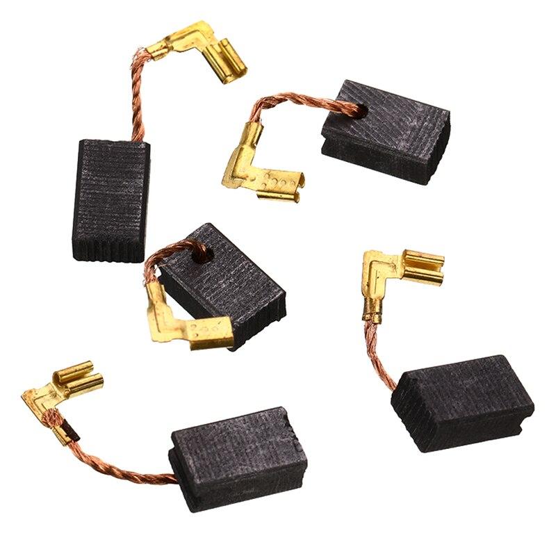 5 uds cepillos de carbono para Makita GA 5030 CB-459 amoladora angular repuestos de cepillos de carbono 6mm * 9mm * 13mm