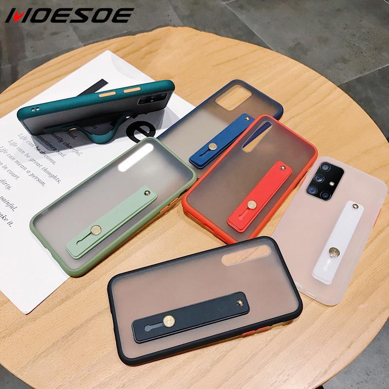 Carcasa de teléfono transparente a prueba de golpes para Samsung Galaxy A51 A70 A71 A50 S20 Ultra S10 Plus A20 A31 A41 A81 A91