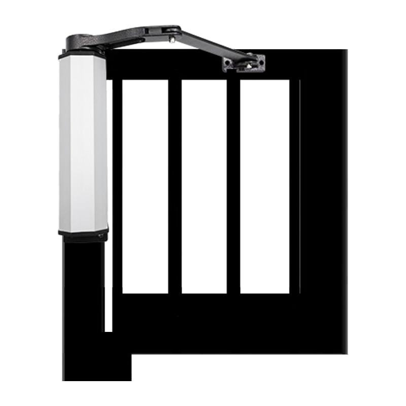 Новый дизайн, 150 кг, автоматический оператор распашных ворот, водонепроницаемый Открыватель для общественных ворот, независимая система до...