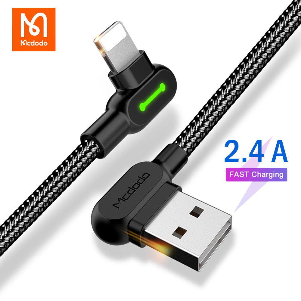 Mcdodo Cable USB para iPhone 12 11 Pro Max Xs Xr X...
