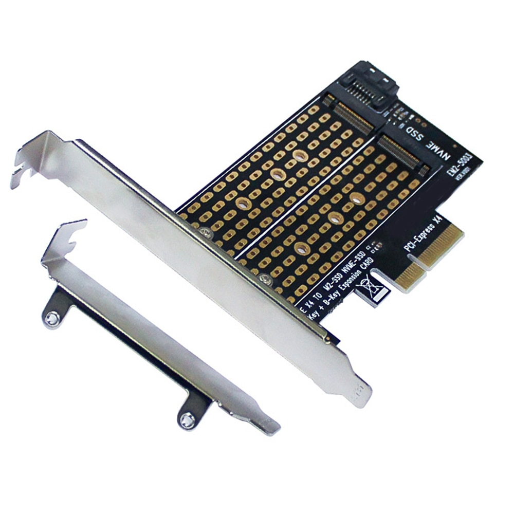 pci e to m 2 nvme ngff riser card m key b key hard disk drive adapter desktop hdd expansion card for mac linux windows M.2 NVME To PCI-E 3.0 X4 High Speed Expansion Card NVME PCIE Adapter Add On Cards M.2 NGFF M Key SSD Adapter