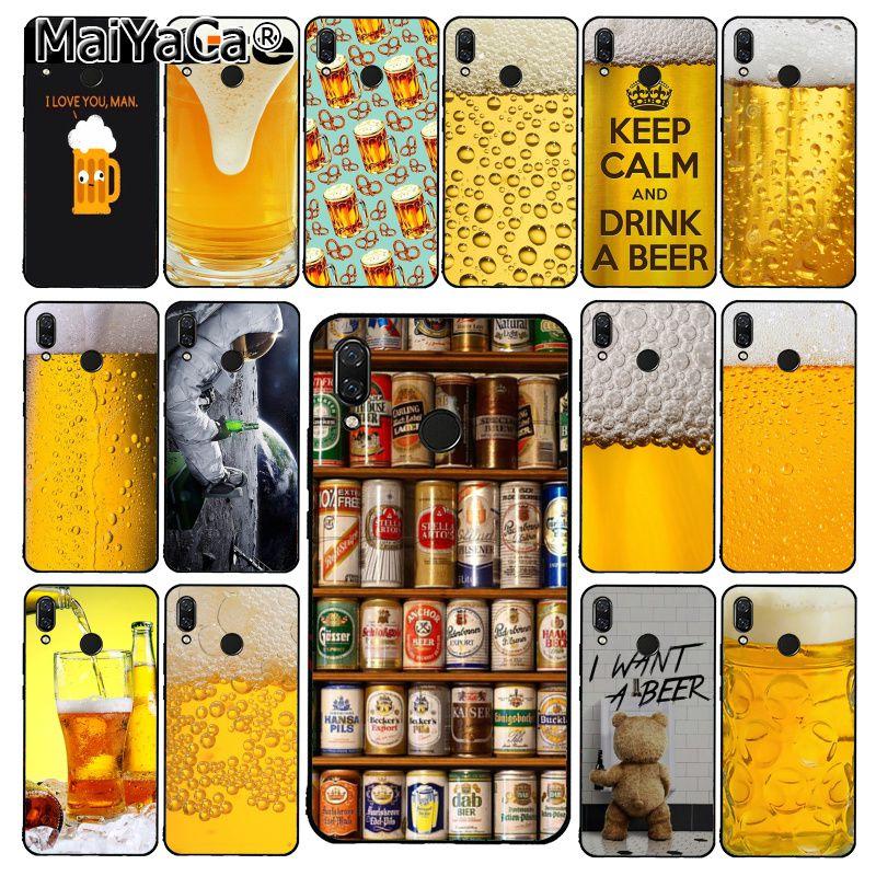 Funda de teléfono para Xiaomi de burbujas MaiYaCa World Beers, Alcohol para verano, Redmi8 4X 6A 9 8T Redmi 5 5Plus Note5 7 Note8pro 9 9pro