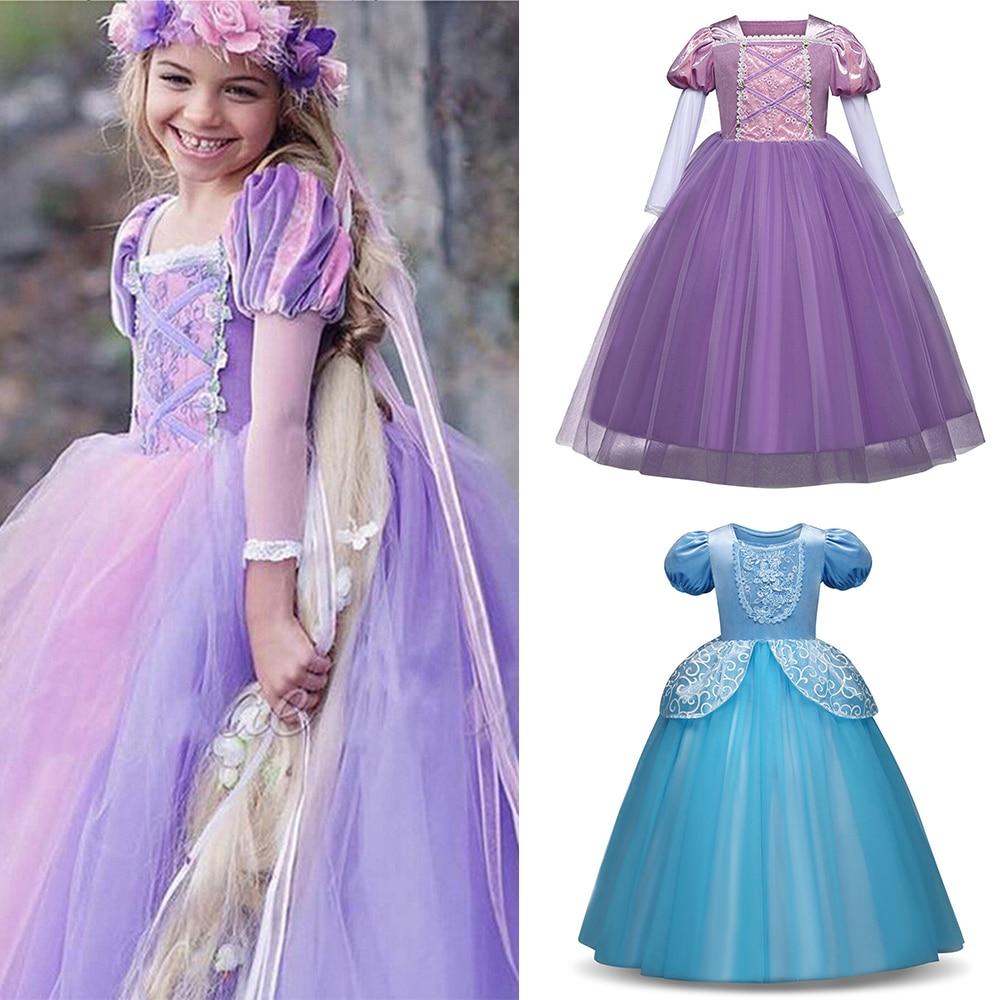 Flor bordado rendas meninas vestidos para festa e casamento vestidos niña traje formal princesa vestido crianças menina vestido de baile