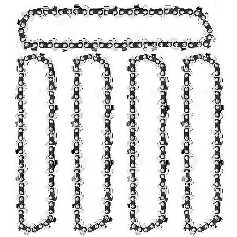 3/5Pcs Mini Chainsaw Chain 4 Inch Chainsaw Chain Guide Saw Chain Replacement Portable Hot