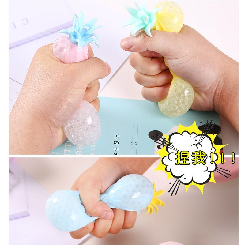2021 Soft Fun Pineapple Ball Pop It Fidget Toys Pack Squishy Anti Stress Reliever Creativity Sensory Children Adult Toy For Kids enlarge