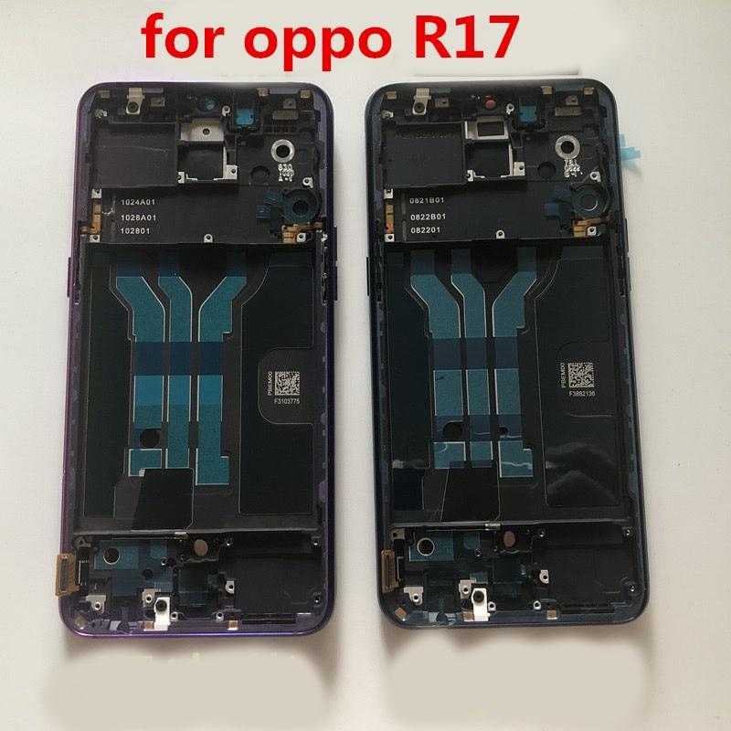 Original pour oppo R17 écran LCD avec écran tactile de cadre et numériseur assemblage complet pour remplacement Oppo R17