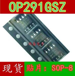 10pcs OP291 OP291GSZ OP291G SOP-8