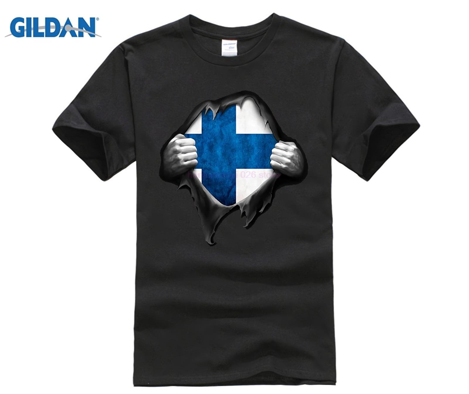 Finland Flag Shirt. Proud Finnish Gift Tee