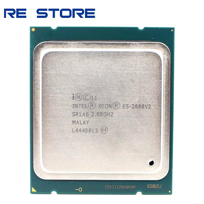 Intel Xeon E5 2680 V2 SR1A6 procesador de CPU 10 Core 2,80 GHz 25M 115W