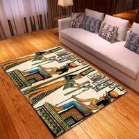 ancient egypt printing modern bedroom living room non slip carpet floor mats family decoration carpet carpet living room