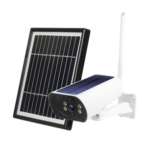 Wireless Security Camera With 3.3W Solar Panel 2MP Wi-Fi CCTV Camera 2 Way Audio PIR Human Detection Night Vision Camera