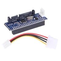 3 5 hdd idepata to sata converter card adapter for ide 40 pin harddrive disk dvd burner to sata 7pin data motherboard cable