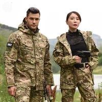 outdoor m65 tactical airsoft jacket suits camouflage jacket set men army hunting jackets military waterproof jacket windbreaker