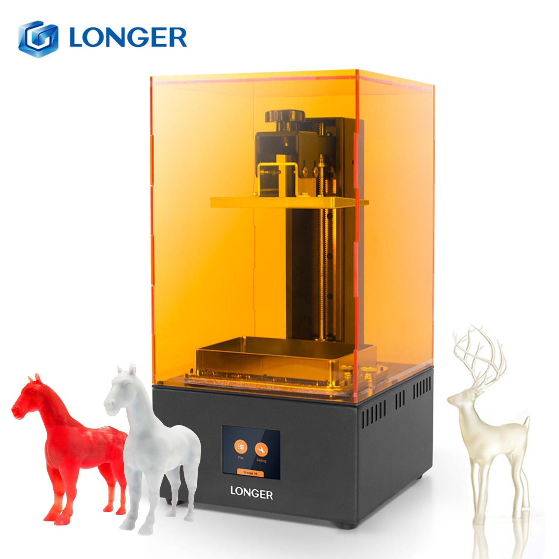 Impresora 3D SLA de alta precisión naranja 30 más larga, impresora 3D con pantalla LCD 2K, iluminación LED UV paralelo, impresora de resina 405nm