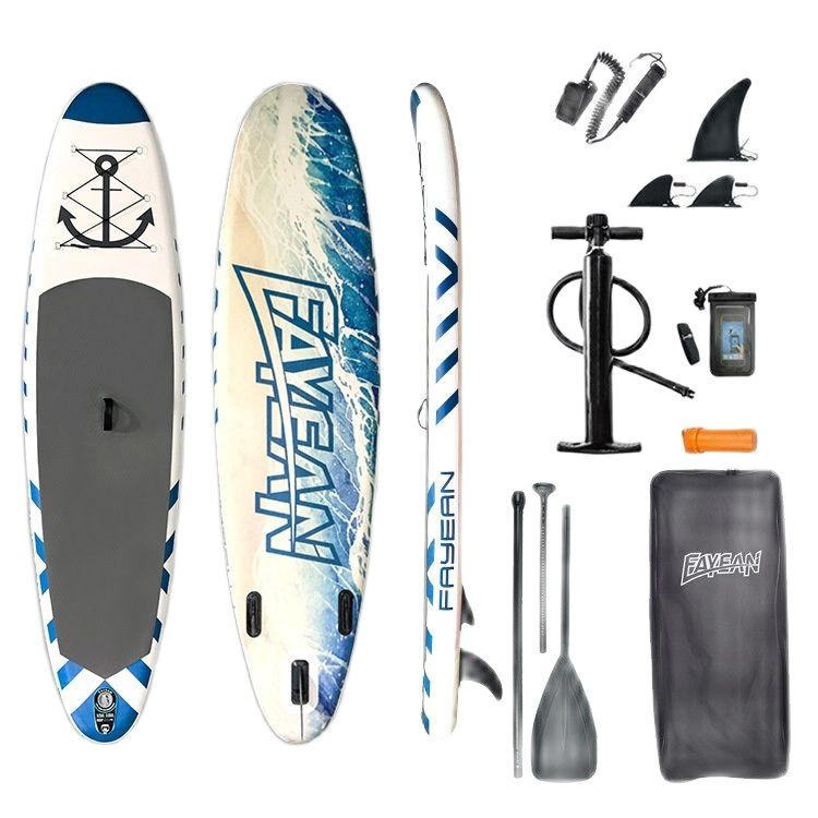 Surfboard paddle board stand-up inflatable SUP water ski float yoga racing paddle board