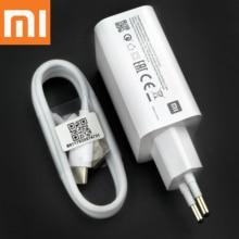 XiaoMi redmi K30 pro ładowarka oryginalny 27W QC4.0 USB PD adapter szybkiego ładowania typu C kabel do Mi10 9 A3 A2 redmi K30 K20 8A Note7