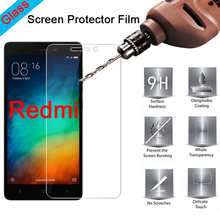 9H Hard Tempered Protective Glass For Xiaomi Redmi 4X 4 Pro 4X 4A 5A 6A HD Toughed Screen Protector For Redmi Pro 2 3 Pro 3S