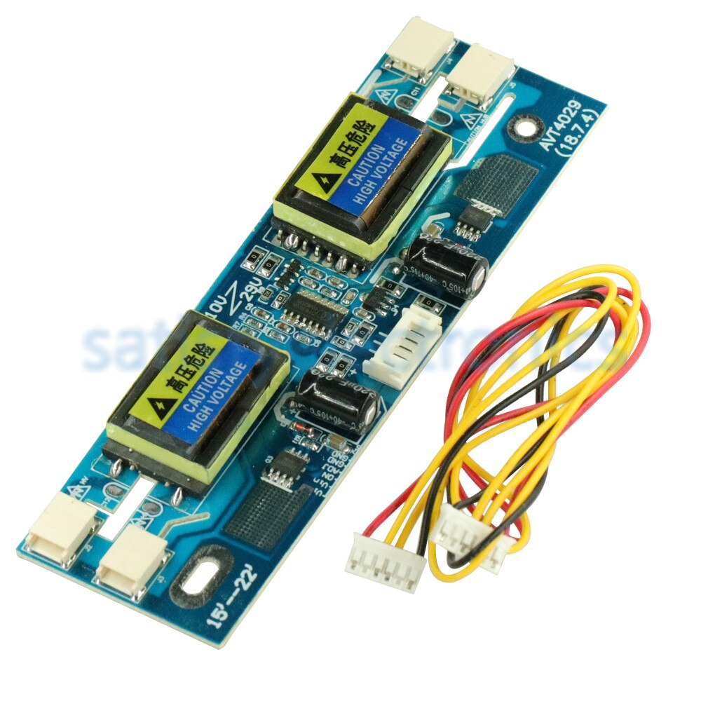 "Universal CCFL inversor LCD Monitor 4 lámpara 10 ~ 30V para portátil 15 ~ 22 ""pantalla ancha"