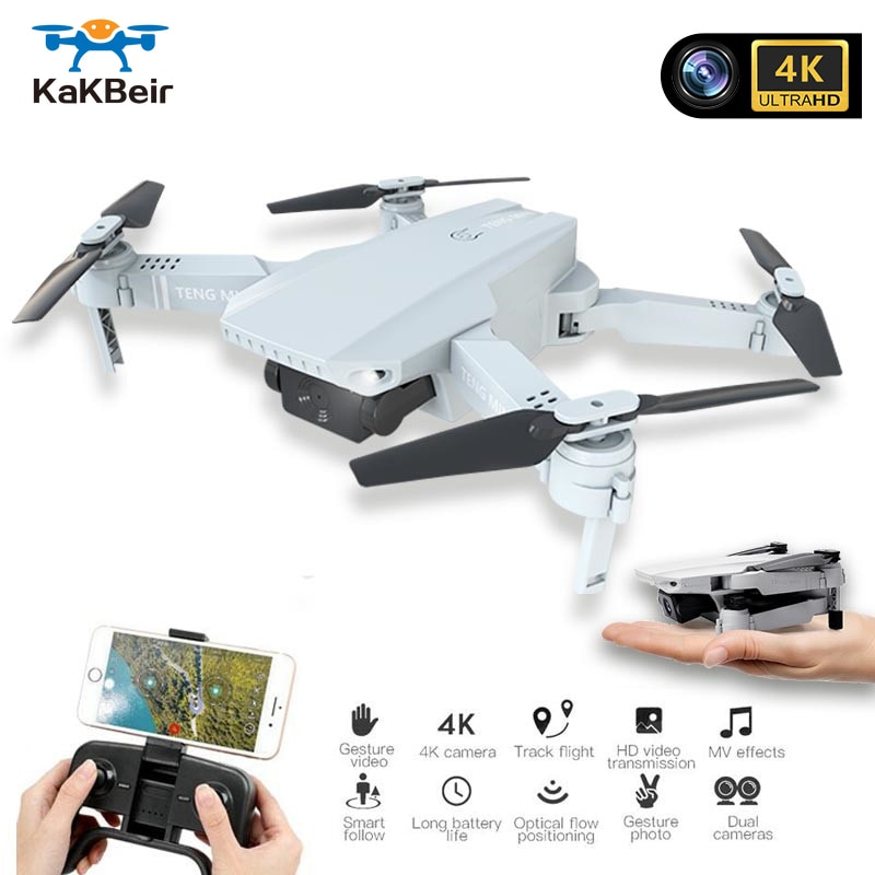 Dubee MINI Drone Cámara 4K WIFI vídeo FPV RC Quadcopter de altitud plegable 4K, Drone con cámara HD Quadrocopter pieza del E68
