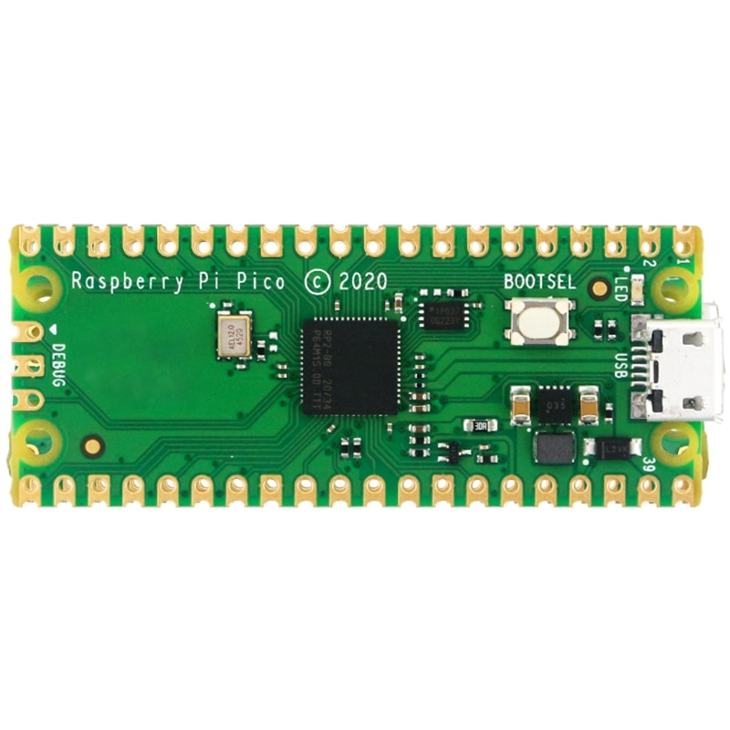 Mini Placa de desarrollo de microcontrolador Flexible, basado en Raspberry Pi, RPRP2040,...