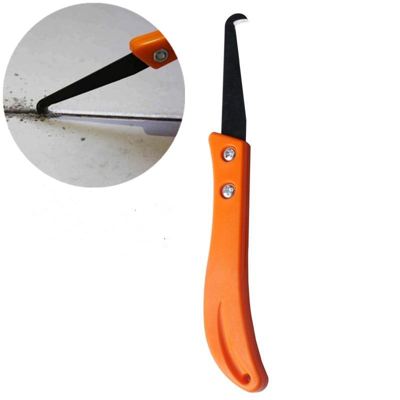 کاشی ابزار تعمیر کاشی چاقو قلاب تمیز کردن حرفه ای و حذف ابزار دستی قدیمی دوغاب