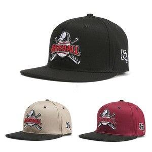 New Baseball Letters Baseball Cap Men And Women Trend Flat Along Hip Hop Hat Spring And Summer Sun Hat
