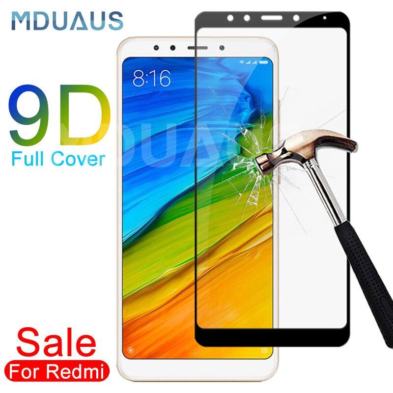 Vidrio Templado 9D para Xiaomi Redmi 5 Plus 5A S2 Go K20 Note 5 5A Pro Protector de pantalla Redmi 4 4X 4A película de vidrio Protector de seguridad