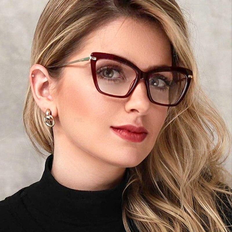 Для женщин кошка прогрессивные Мультифокальные линзы очки для чтения круглый Пресбиопия дальнозоркость бифокальные очки солнце фотохромные очки FML