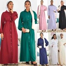 Ramadan Eid Mubarak Abaya Dubai Türkei Arabisch Hemd Hijab Muslimischen Kleid Afrikanische Kleider Für Frauen Europäischen Islam Kleidung Vestido