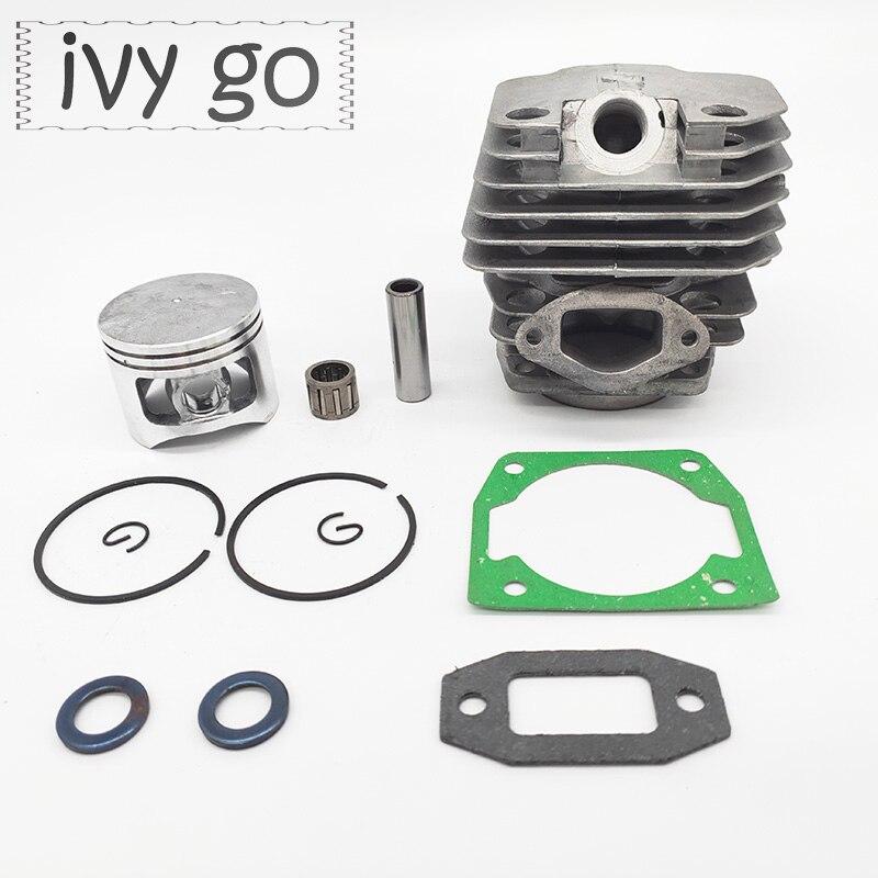 Комплект подшипников для бензопилы, диаметр 45 мм, поршень цилиндра, подходит для бензопилы 5200 52cc, бензопилы, цепной пилы, запасные части