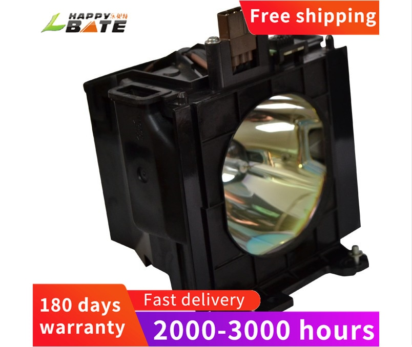 HAPPYBATE ET-LAD55 Replacement Projector Lamp for PT-D5500 PT-D5600 PT-DW5000 PT-L5500 PT-L5600 With ET-LAD55LW With Housing et laa110 high quality replacement bulb with housing for panasonic pt ar100u pt lz370e pt lz370 pt ah1000e pt ah1000