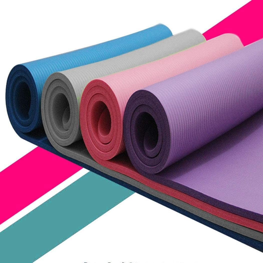 AliExpress - Small 15 Mm Thick Yoga Mat Non-skid Sports Fitness Mat Durable Mat To Lose Weight Yoga Fitness Equipment