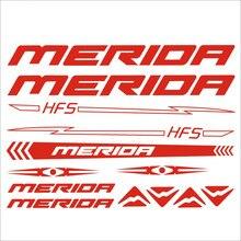 32 cm x 22cm for Merida MTB Frame Road Bike Cycling Car Sticker BIKE MTB BDC BICICLETTA PRESPAZIATI
