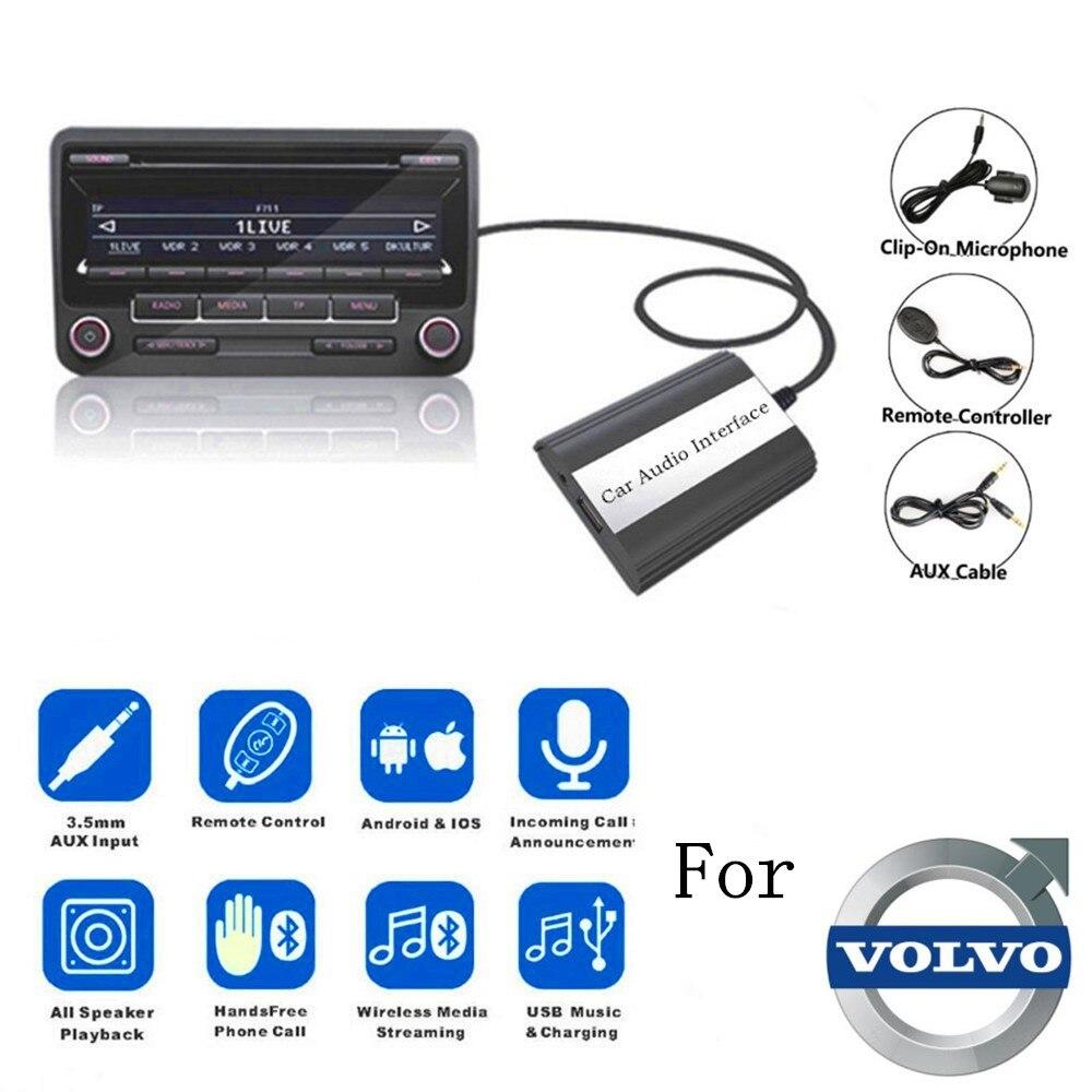 DOXINGYE USB AUX Bluetooth Автомобильный цифровой музыкальный Cd-адаптер для автомобиля MP3 плеер для Volvo HU-series C70 S40/60/80 V70 интерфейс