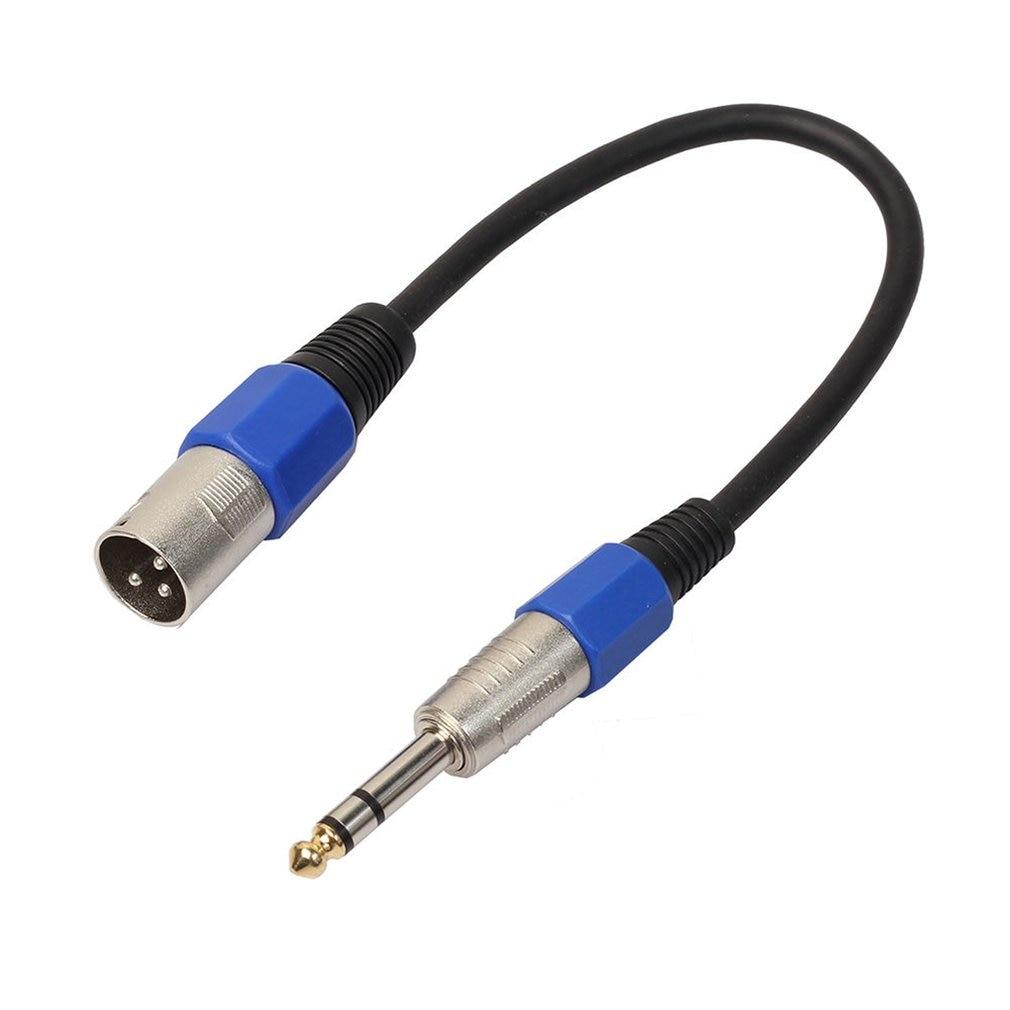 Cable XLR macho a 6,35mm, Conector estéreo 0,3 m, 0,5 m,1m,2m,3m, Cable...