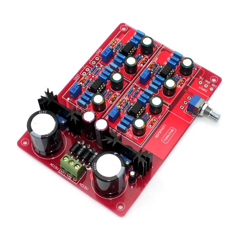 Placa de Pré-amplificador Referem-se ao Alemão Amplificador Ganho Vezes Mbl6010 Circuito Ne5534 12