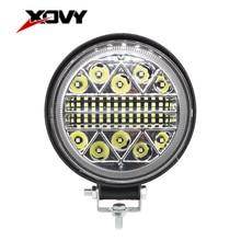 1/2/4PC 4inch 102/117/177W LED Work Light Off Road Fog Light 24V 10000 LM Spot LED Light Bar for Tru